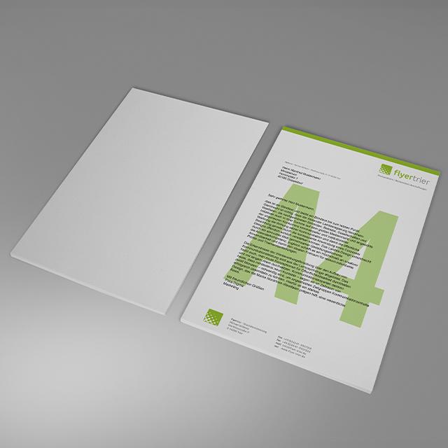 Briefbogen Din A4
